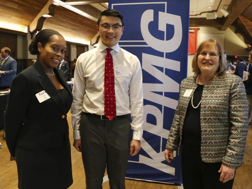 Dr. Kayla Booker, Eric Wong, Dr. Pamela Church