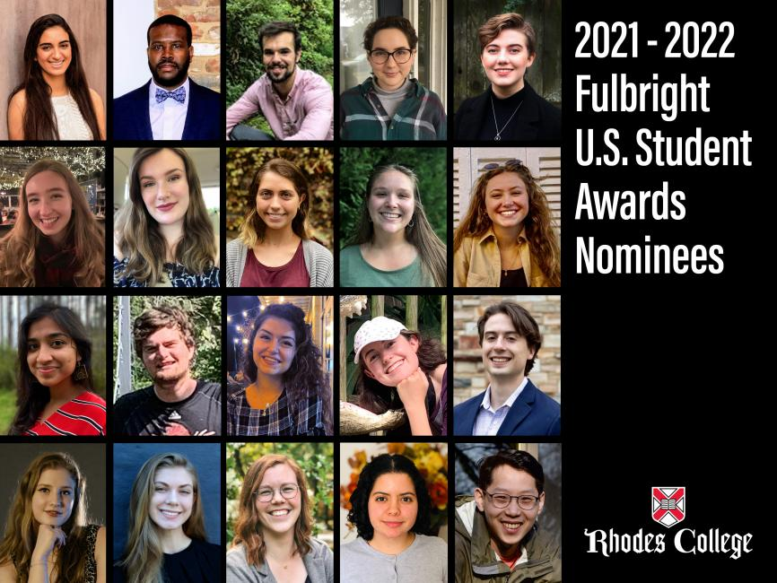 Rhodes College Calendar 2022.Twenty Rhodes Students Compete In Fulbright Award Competition For 2021 2022 Rhodes News