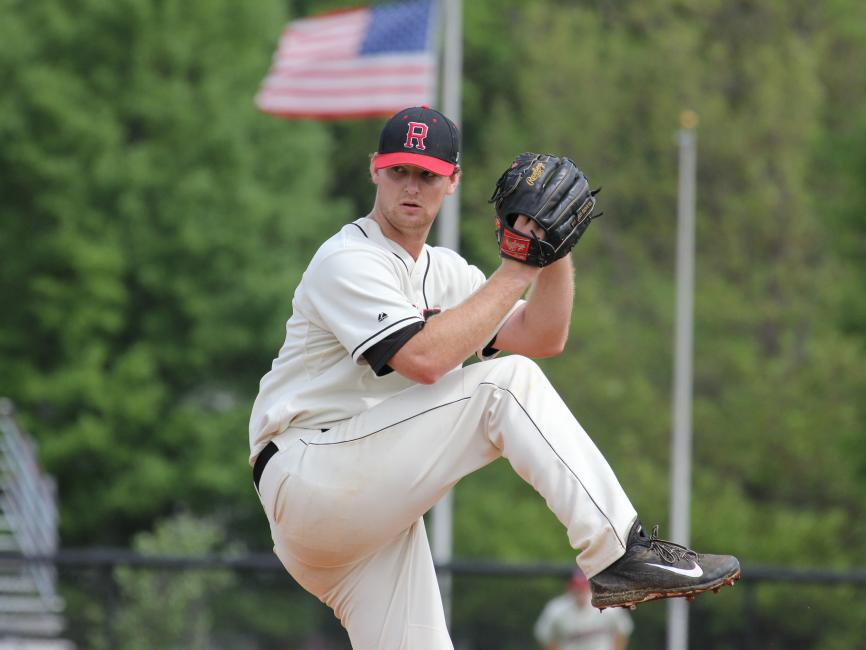 Photo of Rhodes College Baseball pitcher.