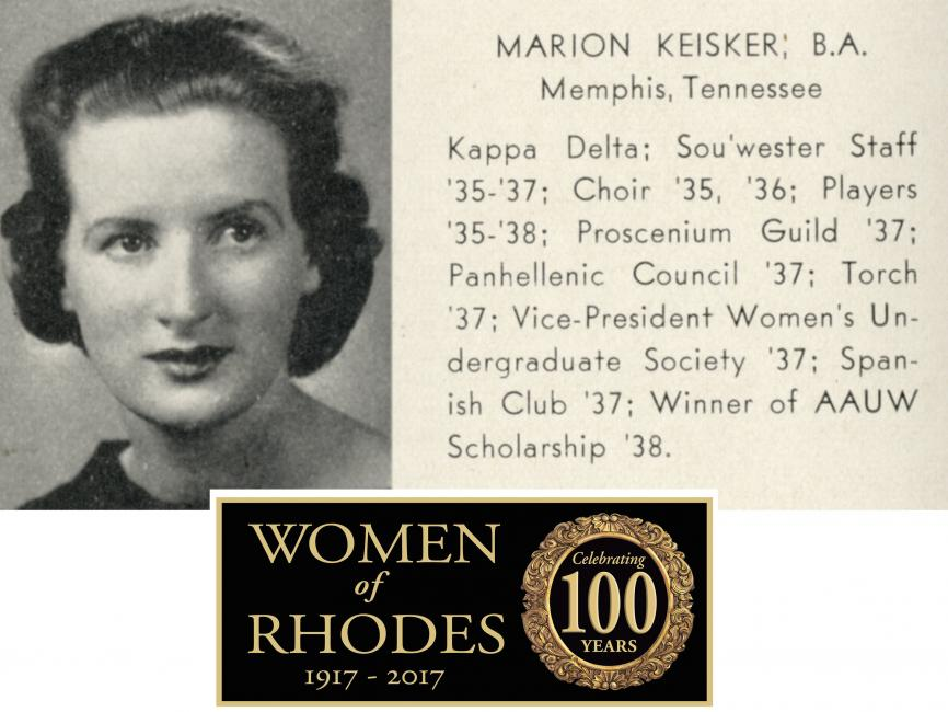 A Photo of Marion Keisker